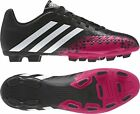 Mens Adidas Predito Black Pink Performance Moulded Studs Football Soccer Boots