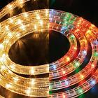 6M STATIC CONNECTABLE ROPE LIGHT DISPLAY CHRISTMAS DECORATION - NEW