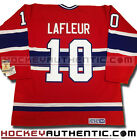 GUY LAFLEUR MONTREAL CANADIENS JERSEY RED CCM VINTAGE