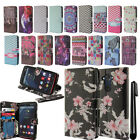For Motorola Droid Turbo XT1254 Flip Wallet LEATHER Skin POUCH Case Cover + Pen