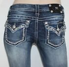 NEW Miss Jeans Summer Fun in Paradise Straight Leg JP7082T2 Sizes 26,27 & 28 NWT