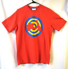 Vespa Mens Casual Wear Target T-Shirt Red With Vespa Logo New RRP £25.99!!!