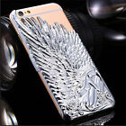 2 Pcs Luxury 3D Angel Wings Hard Back Case Cover Shell for iPhone 6 6+ Plus 4.7""