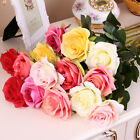 1/510/20 Head Real Touch Latex Rose Flowers Home Design Bouquet Wedding Decor YW
