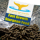 Supergrowth sturgeon pellets fast growth extruded sterlet feed aquatic pond food