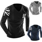 Fashion Men's Long Sleeve Knitwear Knitted Sweater Pullover V Neck Sweaters Tops