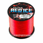 Ultima Red Ice Mainline 4oz Spools - Cod Bass Eel Ray Sea Fishing Line Tackle
