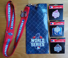 World Series 2015 Lapel Pin Or Lanyard Ticket Holder NY Mets - KC Royals (PICK)
