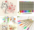 FINECOLOUR Sketch Fine Liner Pen Set 0.3mm Water Based Drawing 16/24/48 Colors