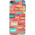 Retro Cool Movember Moustache Hard Case For Apple iPod Touch 6th Gen
