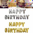 """16'' """"HAPPY BIRTHDAY"""" Letters Foil Alphabet Balloon Party Decoration Silver Gold"""