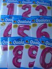 LARGE 86.4cm PINK Qualatex Foil Balloons{ALL NUMBERS/AGES}