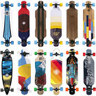 Complete Longboard Long Island Cruiser Drop Through Skateboard Board NEW