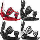 Flow Flite Alpha Men's Snowboard Bindings Step-In Rear entry 2015-2016 NEW
