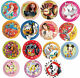 8 PAPER PLATES (23cm) LICENSED CHARACTER DESIGNS Range (Birthday Party){SetD}