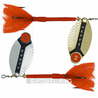 Mepps Lusox Spinners - Sea Trout Pike Perch Salmon Bass Fishing Lures Tackle