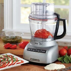 KitchenAid 13-Cup 3.1L Wide Mouth Food Processor Silver RR-KFP1333 Big Large