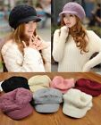2015 Fashion Womens Winter Warm Knitted Crochet Slouch Baggy Beanie Hat Cap 136