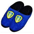 OFFICIAL LEEDS UNITED FC MEN'S GAME SLIPPERS MULES WARM XMAS GIFT NEW ADULT
