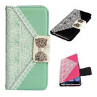 2015 Cute Flip Wallet Faux Leather Case Cover for Samsung Galaxy S6 Edge Plus