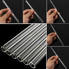 thick straw - 10mm Reusable Thick Straws Wedding Birthday Party Clear Glass Drinking Straws