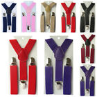 Fashion Boys Girls Kids Child Baby Children Clip on Y Back Elastic Suspenders