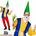 "Funny Garden Gnome Dwarf Adult Book Week Chest 34""-48"" Mens Fancy Dress Costume"