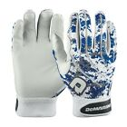 New Demarini Digi Camo Mens Adult Batting Gloves 1 Pair Royal Blue WTD6104