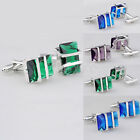 Vintage Stainless Steel Mens Wedding Party Gift Shirt Cuff Links Cufflinks New