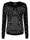 Jawbreaker Hieroglyph Women's Black Sweater
