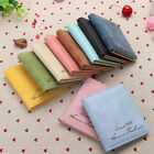 Fashion New women retro lover PU Leather Card Purse Wallet short Mini bag  AS