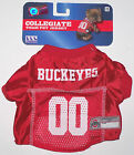 Nwt New Ohio State Buckeyes Dog Pet Jersey Top Shirt Football Mesh College Cute