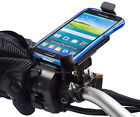 Motorcycle 16-32mm U-Bolt Mount + Universal One Holder for Samsung Galaxy S5
