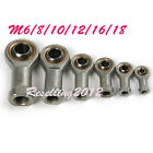 2Pc or 4Pcs M6-M18 Ball Joint Rod End Oscillating Bearing for Hydraulic Cylinder