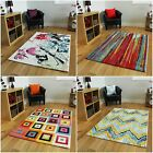New Funky Colourful Medium Large Area Rugs Quality Easy Clean Living Room Rug