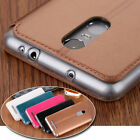 360° Protection Leather Wallet Stand Case Cover For Xiaomi Redmi Note 2 3 4 2S