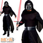 Deluxe Kylo Ren Mens Fancy Dress Star Wars The Force Awakens Adults Costume New