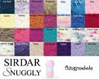 SIRDAR SNUGGLY SNOWFLAKE CHUNKY WOOL/YARN - 25G BALLS - BABY - 30 COLOURS