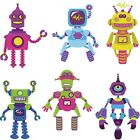 Autocollant Stickers kit 6 robots Ref: NW2947