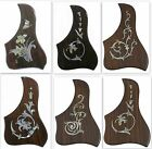 Acoustic guitar pickguard Rosewood,MOP inlaid,Right hand/side 1 piece,PGTLR