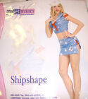 Ship Shape Sailor Sexy Costume Adult Secret Wishes XS 2-6 S 6-9 M 10-12 NIP