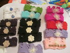 MULTI SELECTION OF BABY CROWNS PREMATURE /TO NEW BORN HAND KNITTED