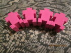 4 X PINK JIGLOCK    ERASER VERY COLLECTIBLE    TAKE A LOOK  NWOT
