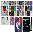 For LG V10 H900 VS990 H901 H968 H961N Design PATTERN HARD Back Case Cover + Pen
