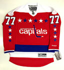 TJ OSHIE WASHINGTON CAPITALS REEBOK PREMIER HOME THIRD JERSEY NEW WITH TAGS