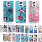 Dynamic Glitter 3D Liquid Flow Quicksand Case Cover For Samsung Galaxy Phones