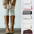Women Long Sexy Chic Over The Knee Thigh High Soft Boots Stockings Cotton Socks