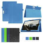 """Hot Slim Folio Faux Leather Case Cover Stand fr Microsoft Surface 3 10.8"""" Tablet"""