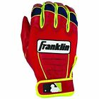 Franklin MLB David Ortiz CFX Pro Signature Series Batting Gloves Red/Yellow18605