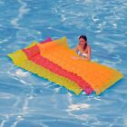 Intex Tote 'N Float Wave Mat Inflatable Floating Swimming Pool Raft Float Tube
